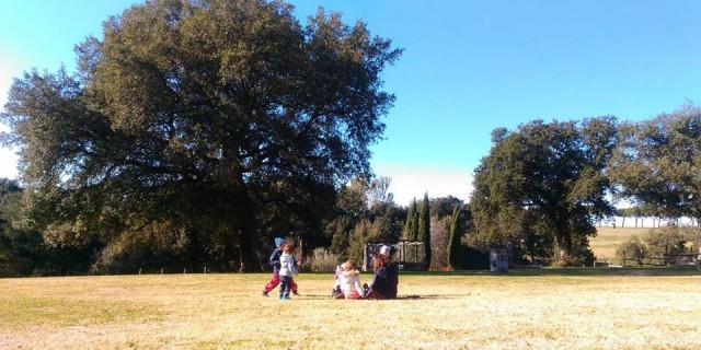 Crescita in natura a Roma – Il bosco dei bambini
